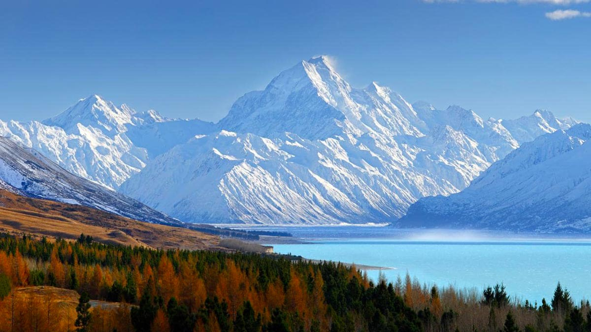 NZ LoTR and Hobbit tour package Mt Cook