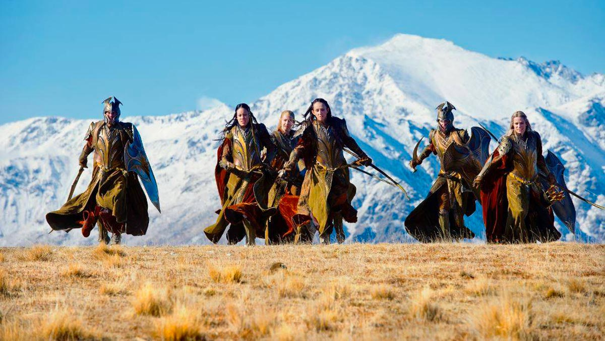 Lord Of The Rings Tour South Island Nz