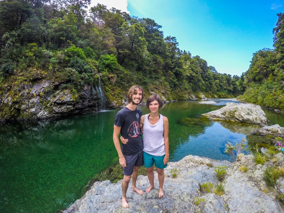 Couple at Pelorus River, NZ