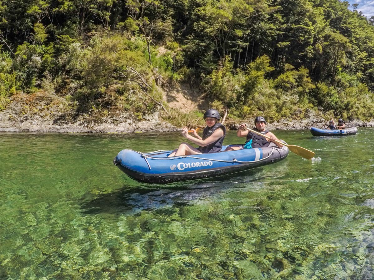Family Kayaking Tour in New Zealand