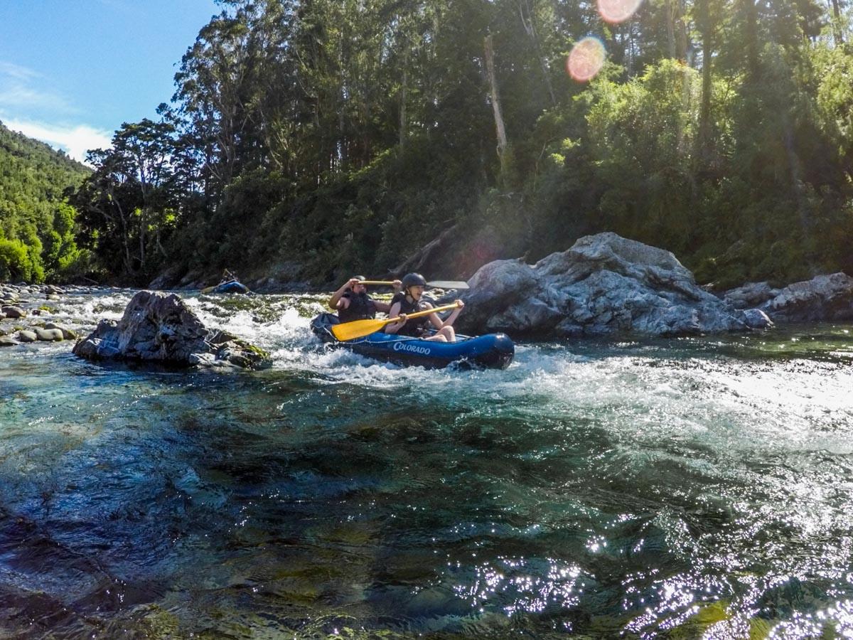 Kayak Tour for Friends at the Pelorus River