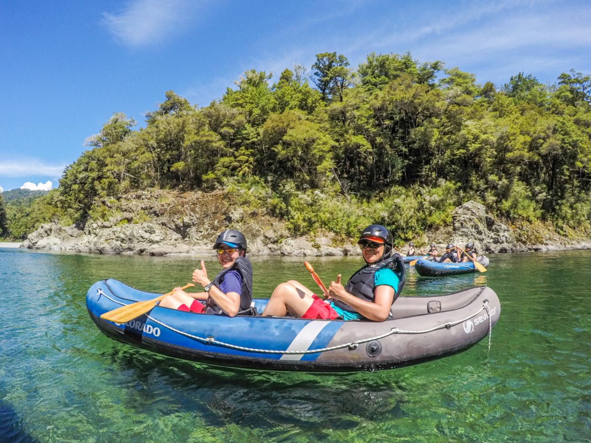 Kayaking Tour for Friends in New Zealand