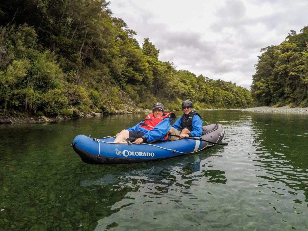 Kayak Tour for friends in New Zealand