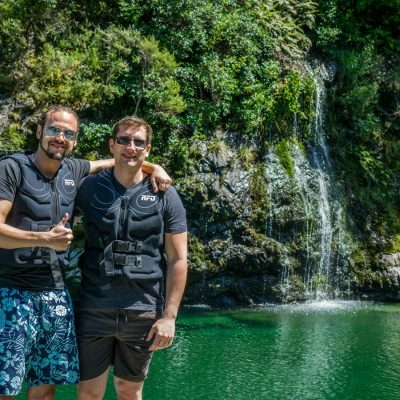Friends at the Pelorus River, Havelock