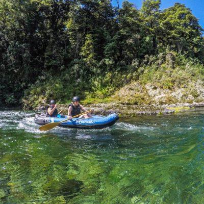 Friends at the Pelorus River, NZ