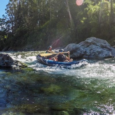 Friends at the Pelorus River, South Island