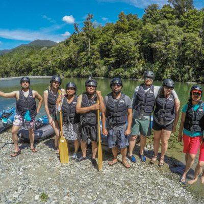 Kayak Group at the Pelorus River