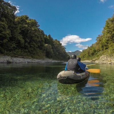 Kayaking the Beautiful Pelorus River, NZ