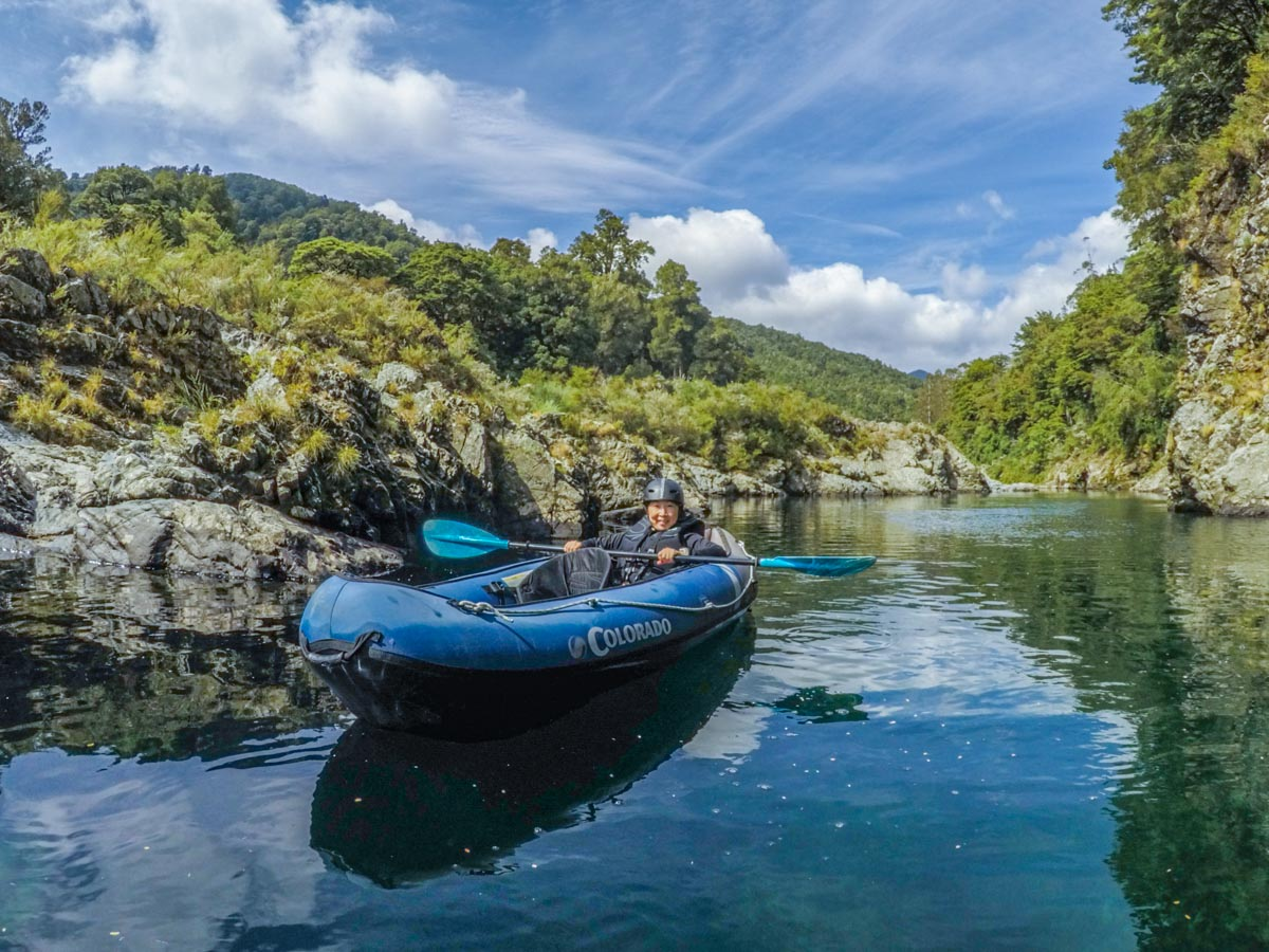 Kayaking in New Zealand South Island