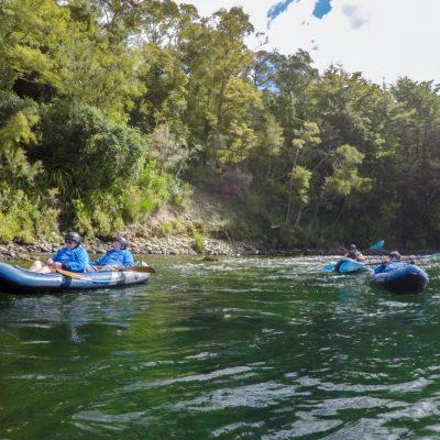 Kayaking Tour at the Pelorus River, Havelock