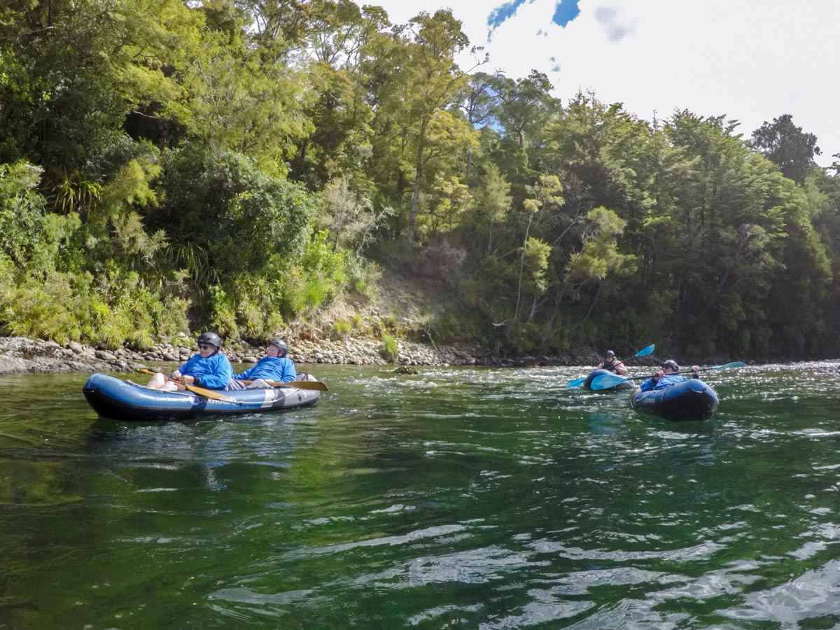 Kayaking Tour at the Pelorus River, Havelock