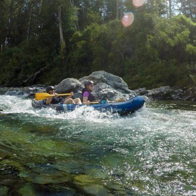 Rapids at the Pelorus River, New Zealand