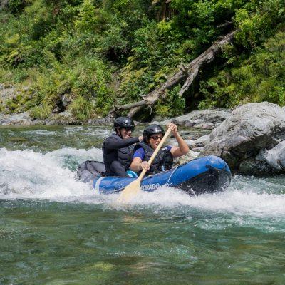 Rapids Kayaking at the Pelorus River