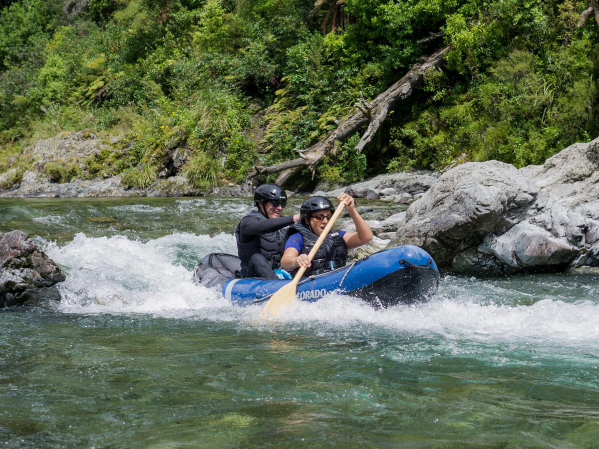 Rapids Kayaking at the Pelorus River
