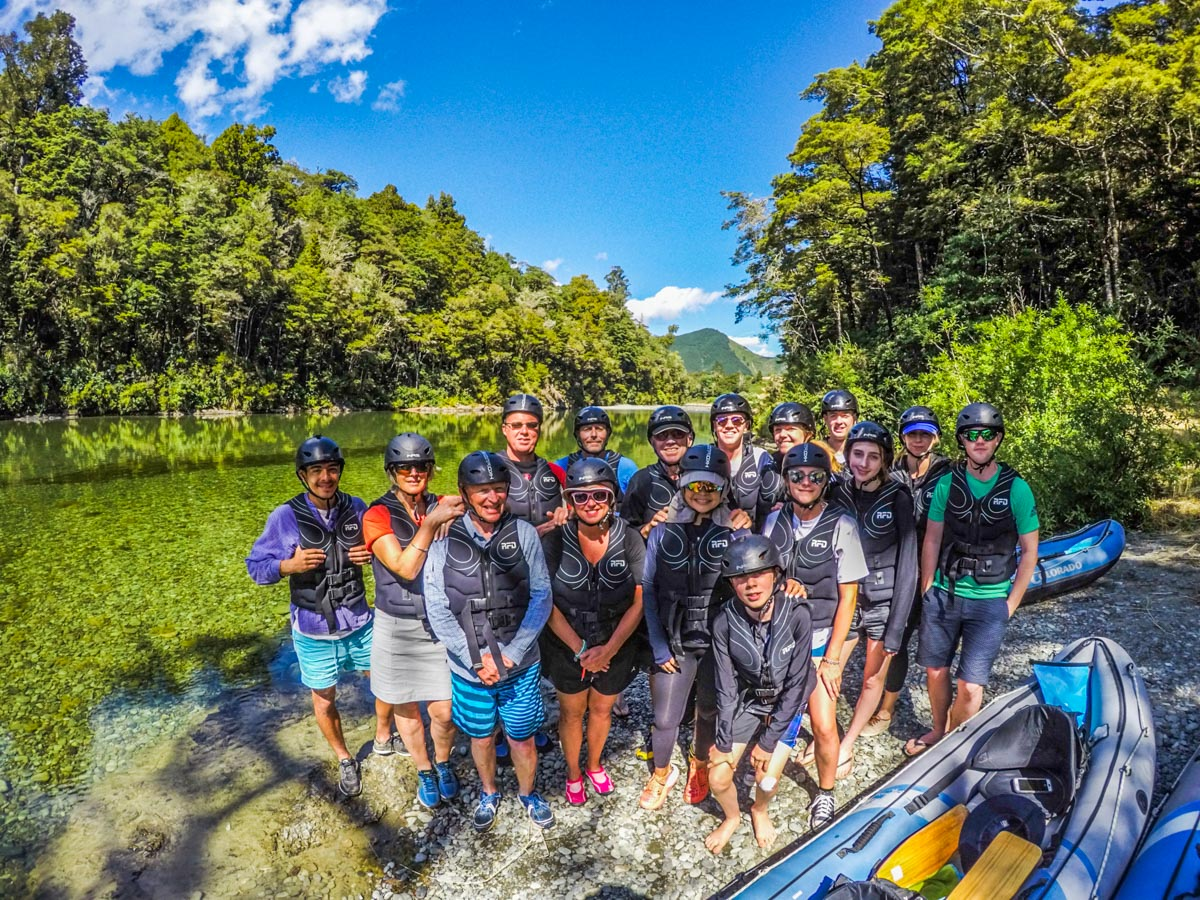 Big Group at the Pelorus River