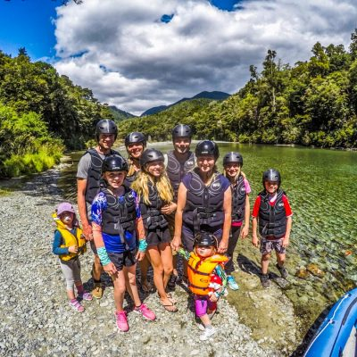 Family Group at the Pelorus River