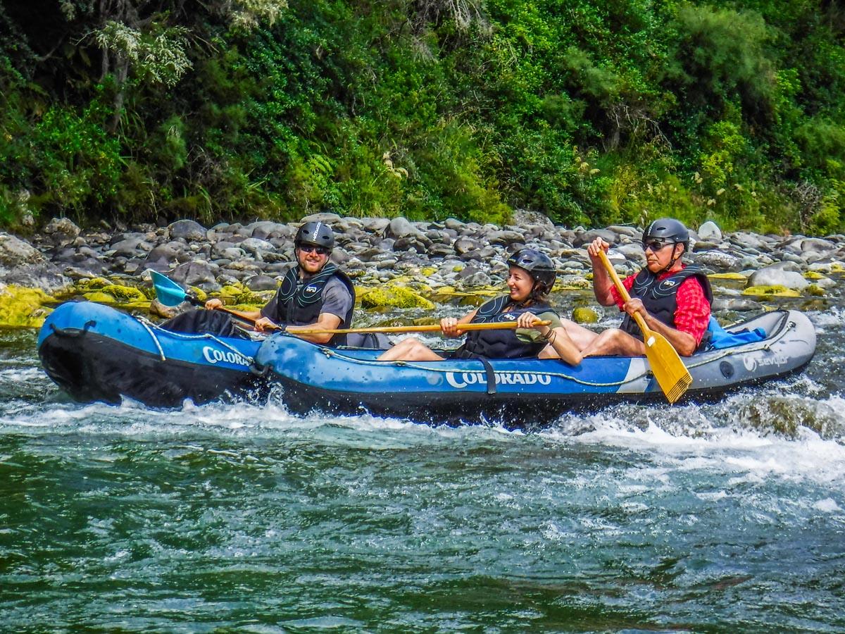 Kayaking Fun in New Zealand