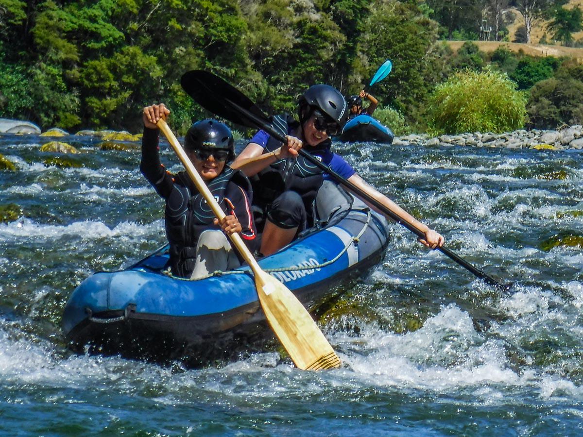Fun Kayaking Tour in New Zealand
