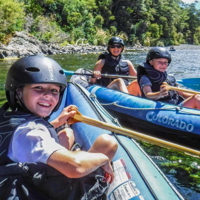 Happy Family at the Pelorus River