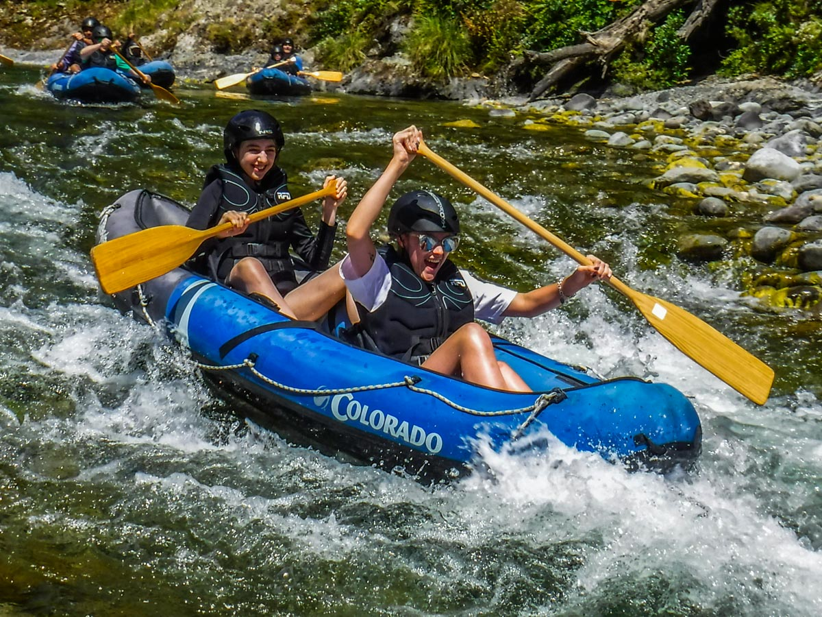 Kayaking Fun at the Pelorus River Rapids