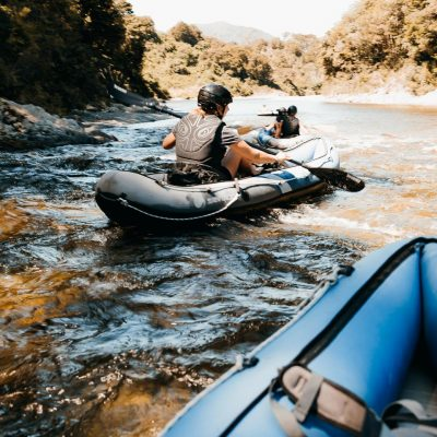 Kayaking the Pelorus River, NZ
