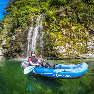 Kayaking Beautiful Pelorus River in New Zealand