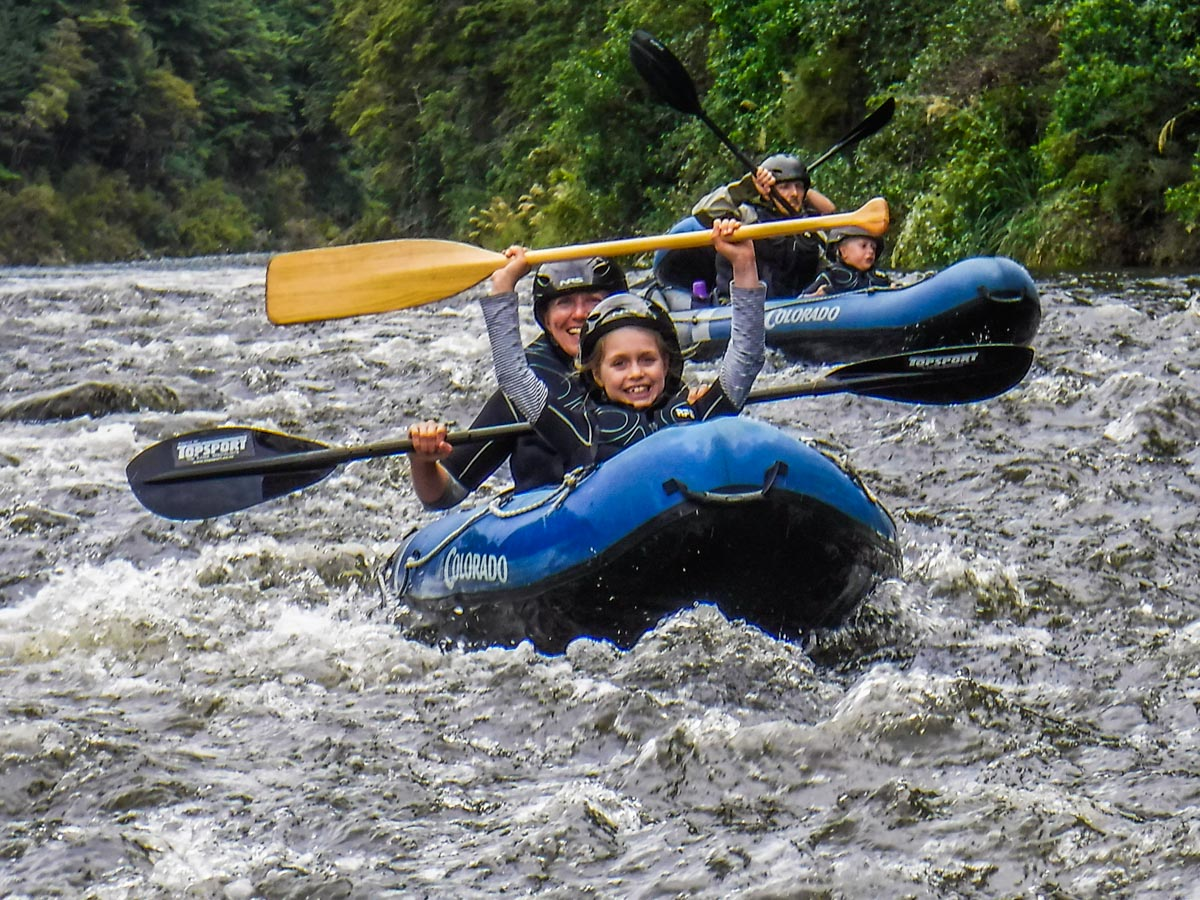 Family Kayak Tour in New Zealand