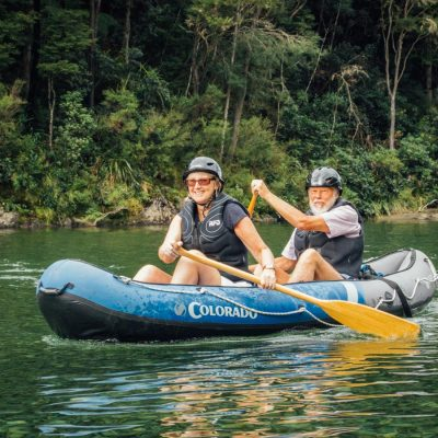 Family Kayak Tour at the Pelorus River