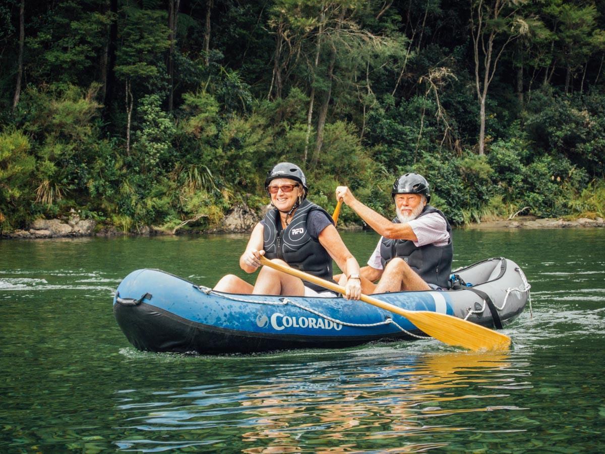 Family Kayak Tour at the Pelorus River