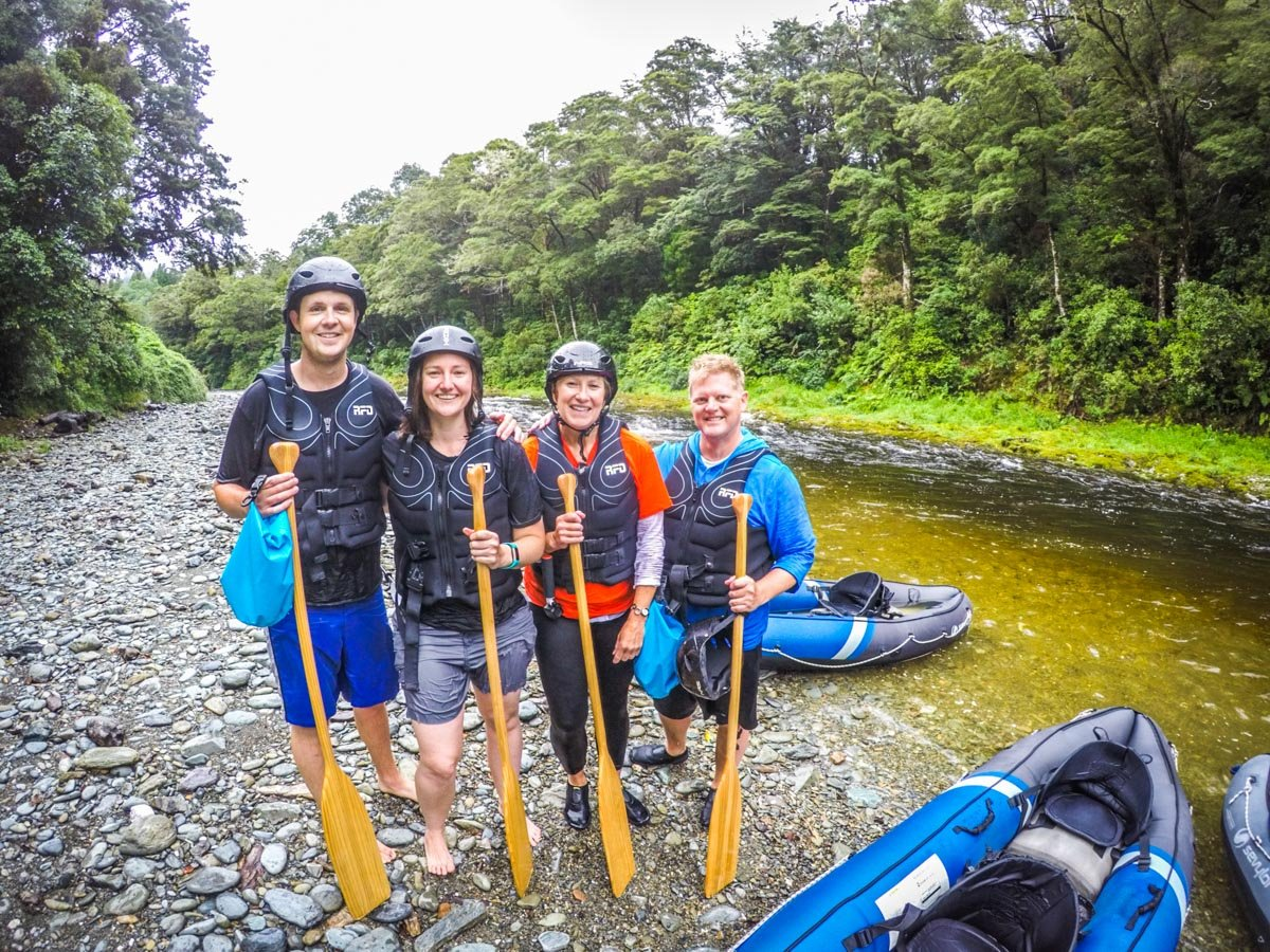 Friends at the Pelorus River, NZ