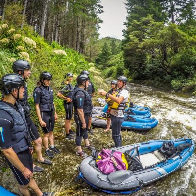 Preparing to Kayak at the Pelorus River