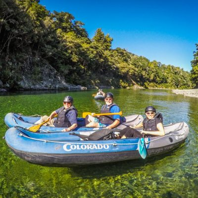 Family Kayak Tour in New Zealand