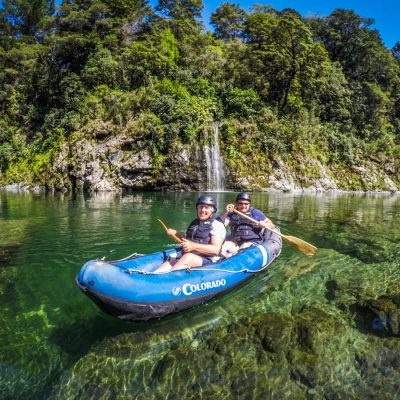 Kayaking Beautiful Pelorus River