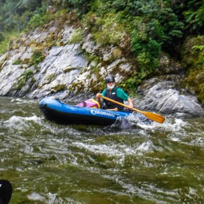 Kayaking Pelorus River