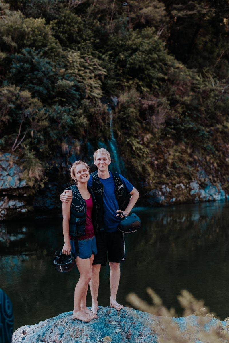Couple at Pelorus River