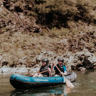 Friends Kayaking at the Pelorus River