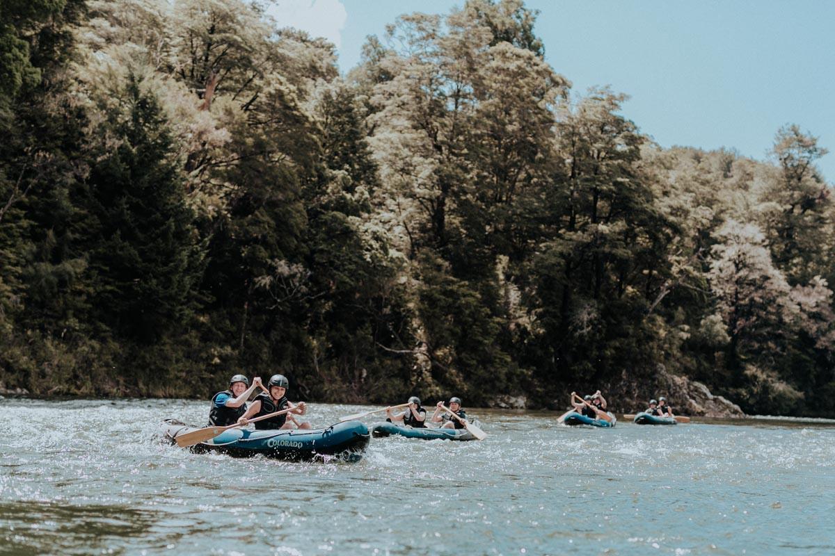 Kayaking the Pelorus River, Havelock