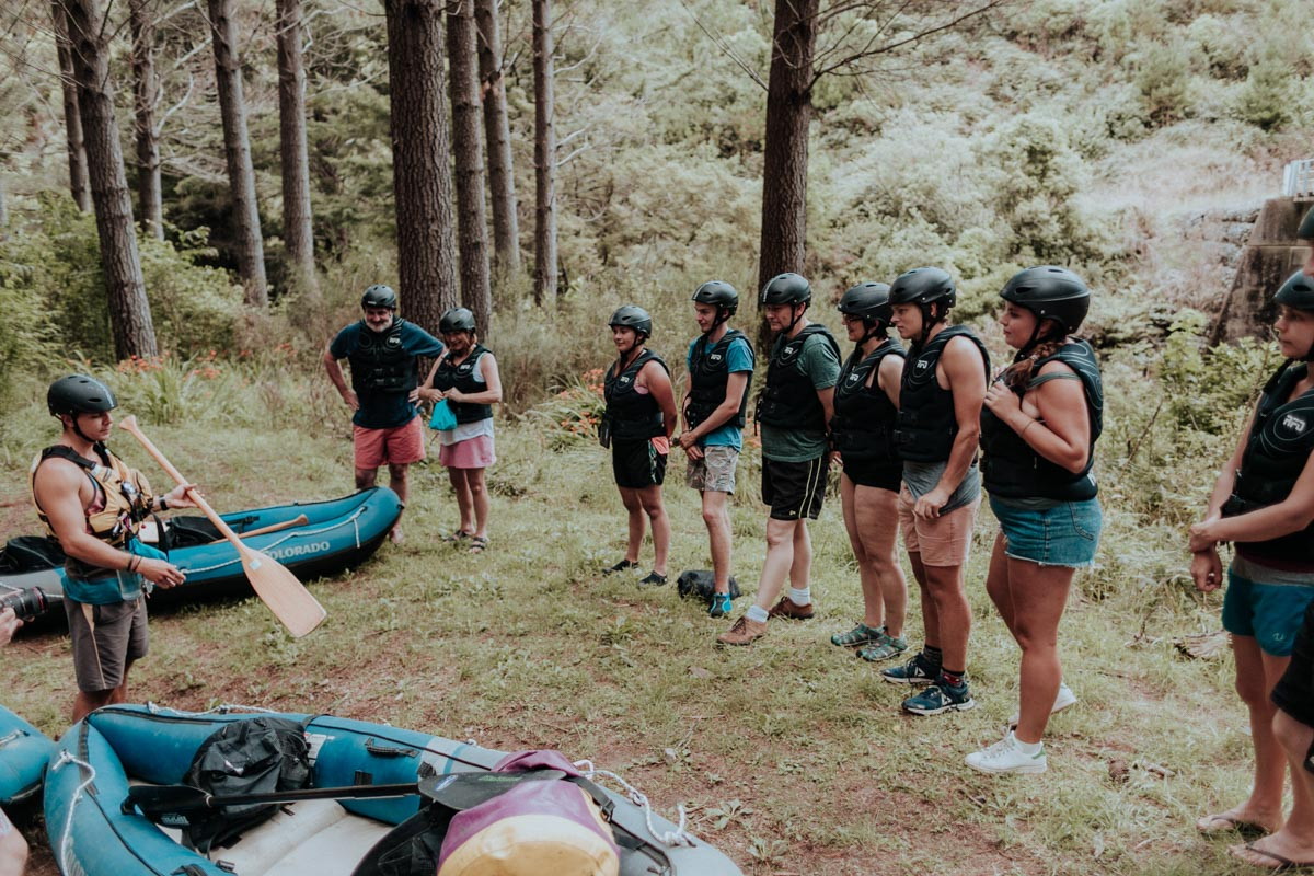 Learning to Kayak at the Pelorus River