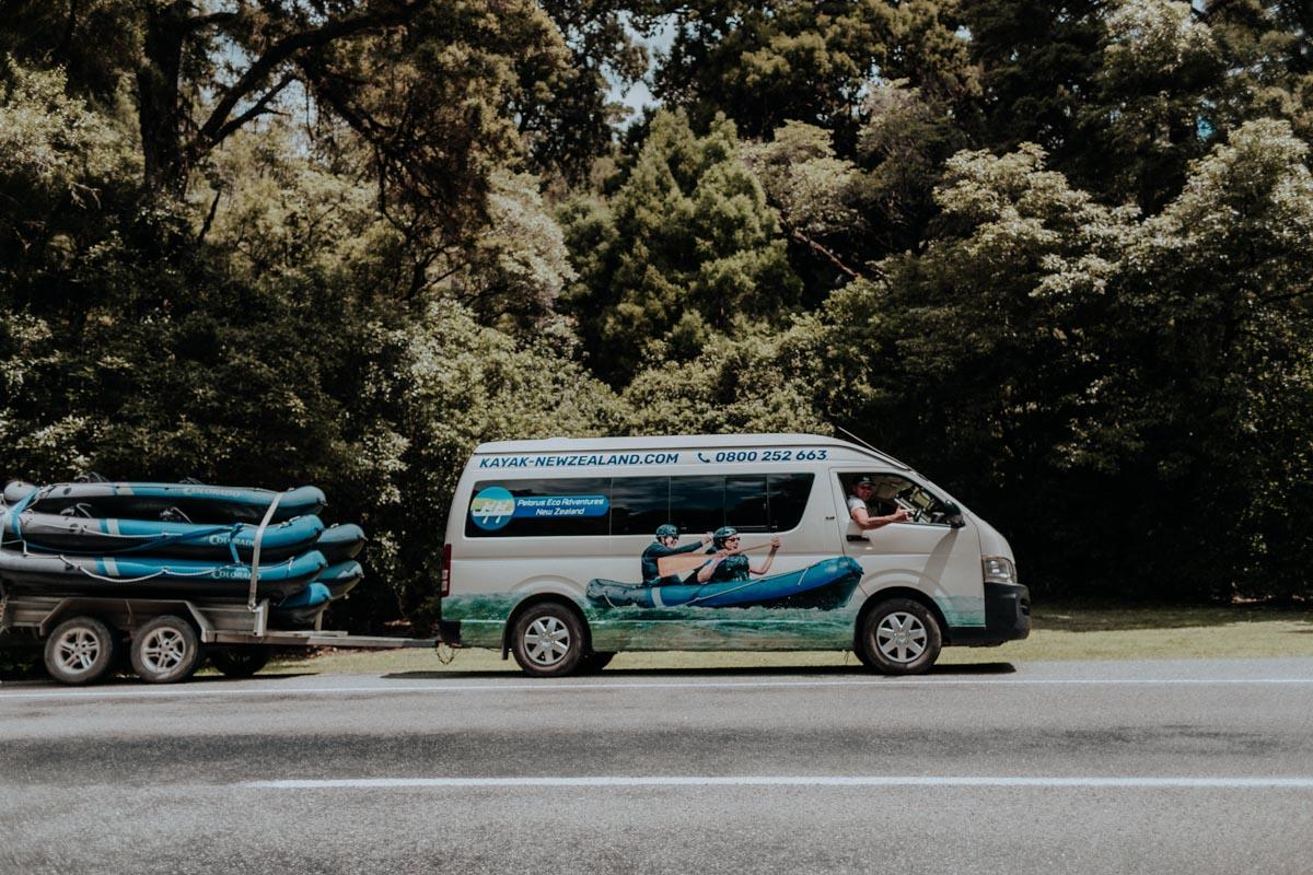 Pelorus Eco Adventures Van