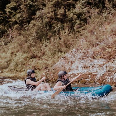 Rapids at the Pelorus River, New Zealand