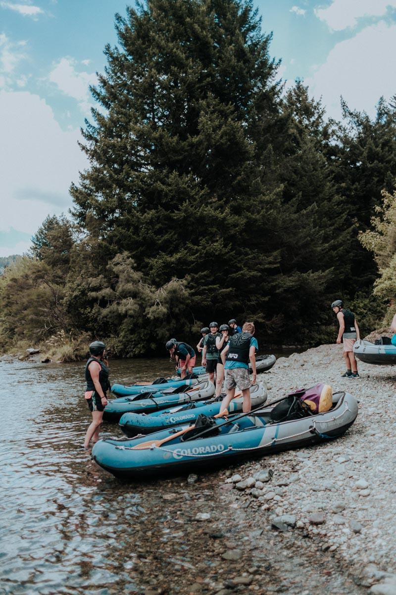 Starting to Kayak at the Pelorus River, Havelock