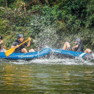 Kayak Fun in New Zealand