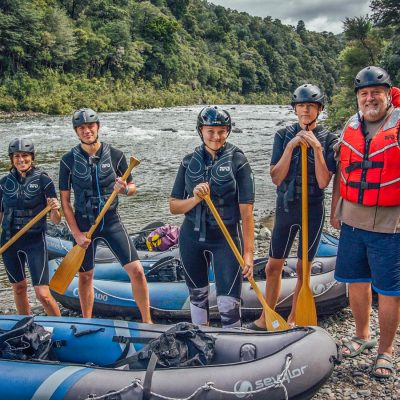 Kayak Group at the Pelorus River
