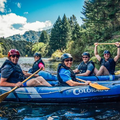 Kayaking Group at the Pelorus River