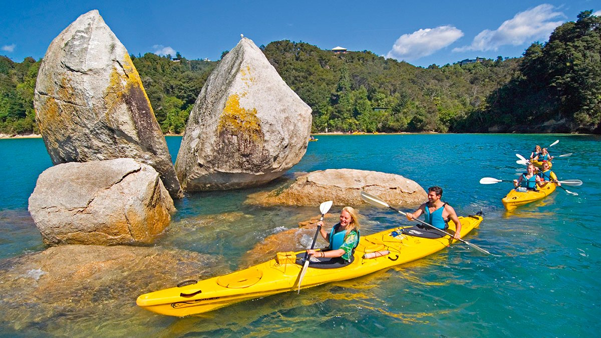 Kayak Trip New Zealand Abel Tasman