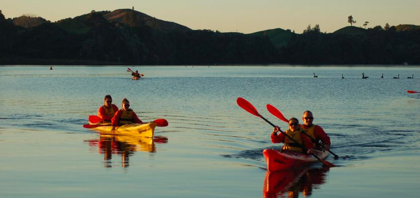 Five Half-Day Kayak Trips in New Zealand