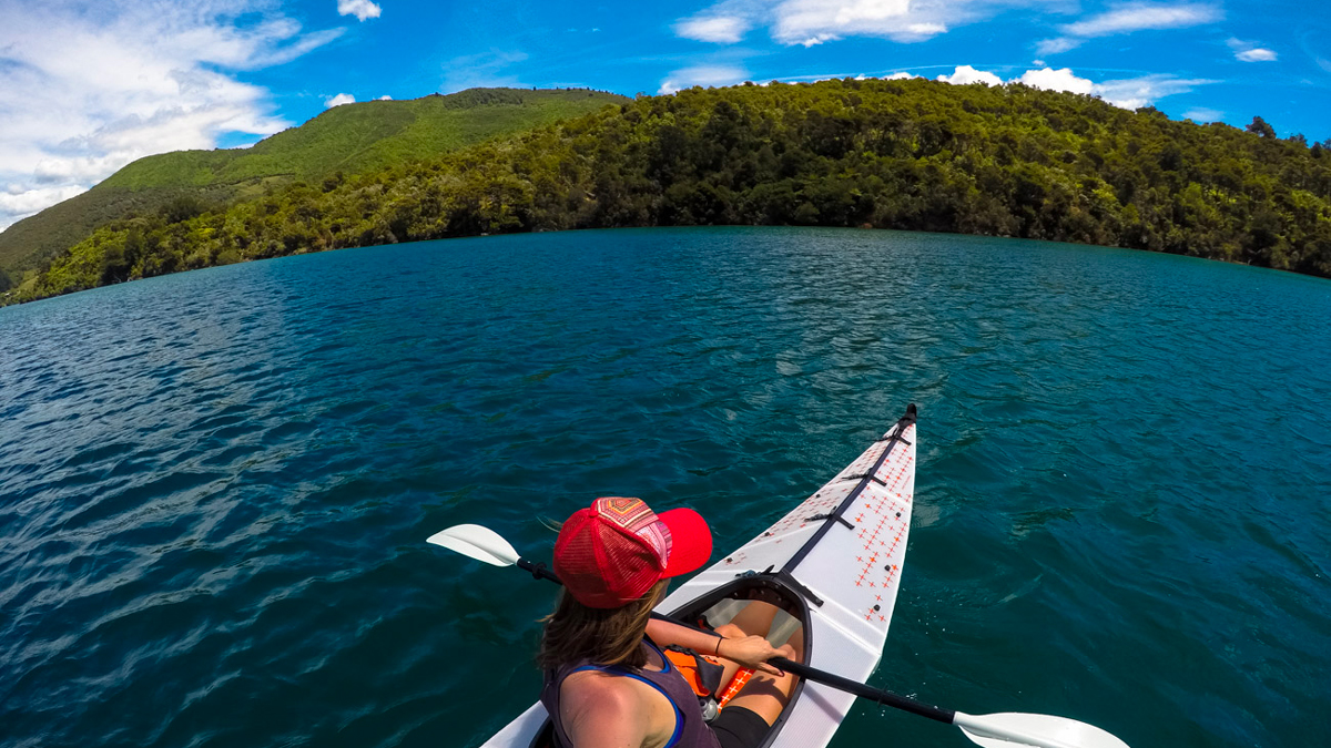 Kayak Trip New Zealand Marlborough Sounds