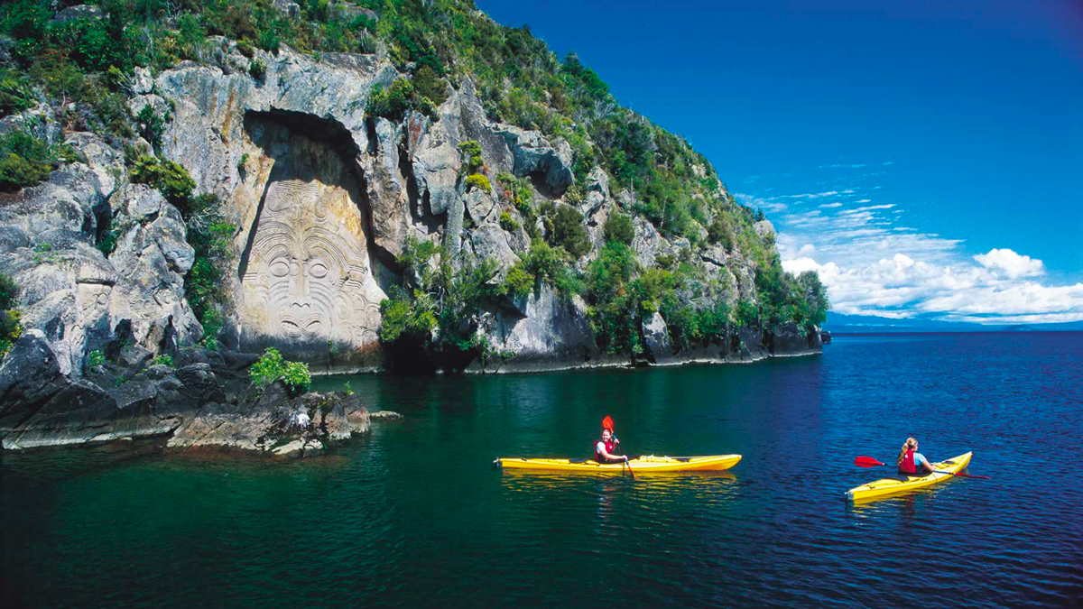 Kayak Trip New Zealand Taupo