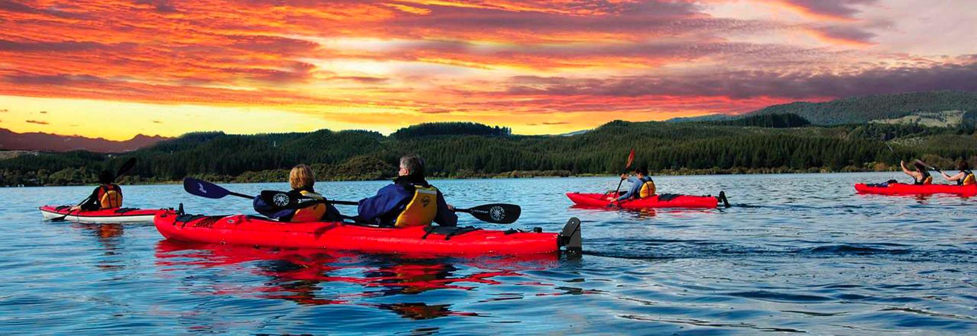 Kayak Trip New Zealand Header