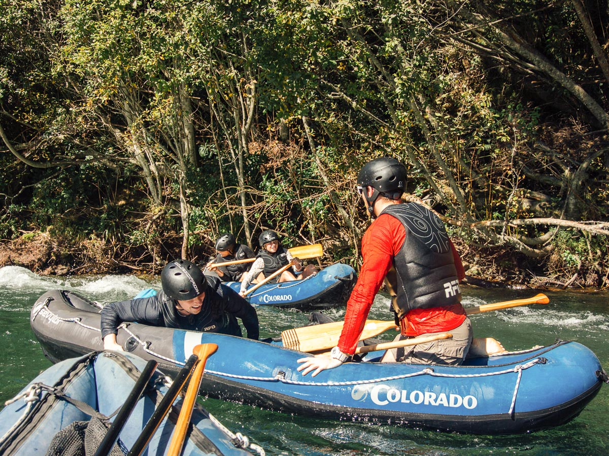 Getting to Kayak at the Pelorus River